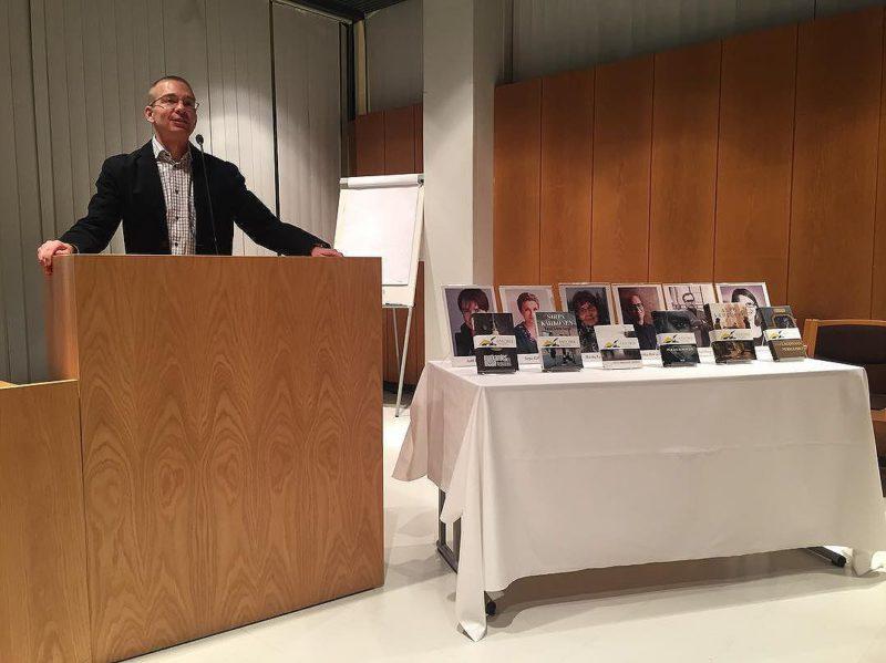 Karo Hämäläisen puheenvuoro Savonia 2017 -ehdokkaiden julkistustilaisuudessa